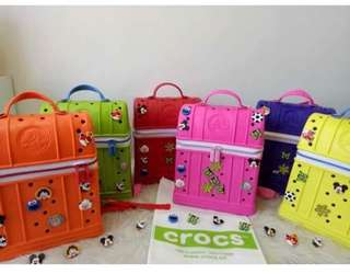 CROCS LUNCHBAG on MEGA SALE! PM me for reservations and inquiries! Open to resellers :) *free shipping nationwide!