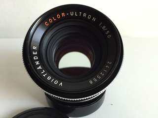 Voigtlander Color Ultron 50mm f1.8 QBM Mount
