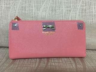 Samantha Thavasa Petite Choice Pink Long Wallet