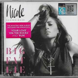 NICOLE SCHNERZINGER Big Flat Lie CD