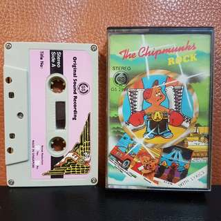 Cassette》Thr Chipmunks ROCK