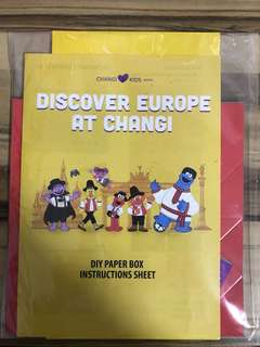 DIY paper box (Sesame Street)