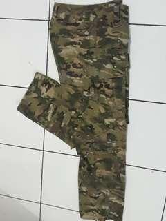 X  X Small  Long Pant Camo Military