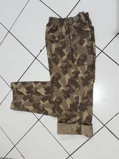 The Choco Chips Camo Long pant Casual Military
