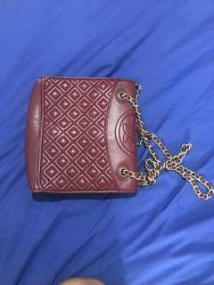 Authentic Tory Burch Quilted Bag (Pre-loved)