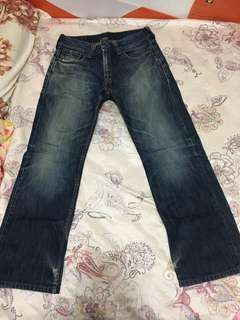 Levi's 523 straight fit  32吋腰牛仔褲