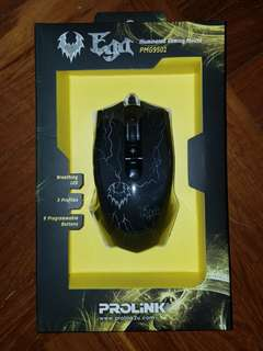 Prolink pmg9501 gaming mouse