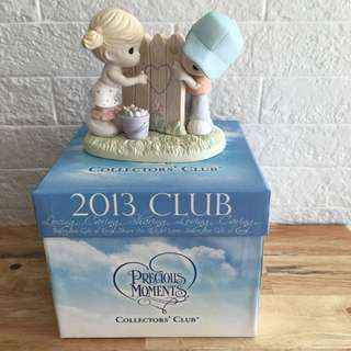 Precious Moments 2013 collector's club figurine