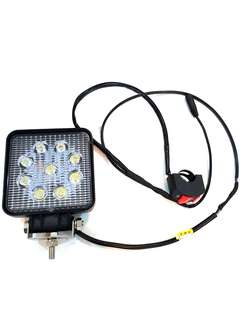 ***In-Stock = LED Fog Light 12V 3600 Lumens 30W 1Set With Wired and On/Off Switch
