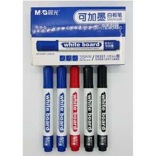 中國 上海晨光 水性易擦白板筆 (AWM26301) 可選:  黑色 / 藍色 / 紅色