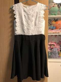 全新斯文OL連身裙