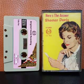 Cassette》Skeeter Davis - Here's The Answer