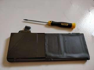 "Battery for Macbook Pro 13""  (2009-2012 models)"