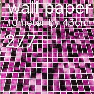 Tiled Wallpaper Self Adhesive C277