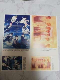 BTS POST CARD