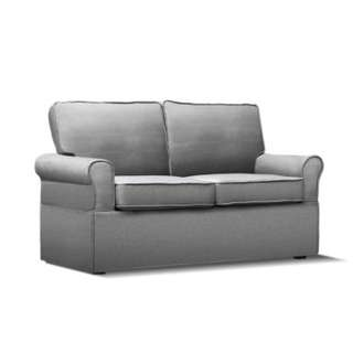 2 Seater Folding Sofa Bed  Grey