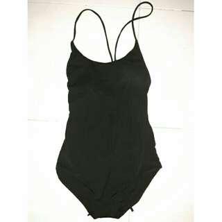 Black swim suit