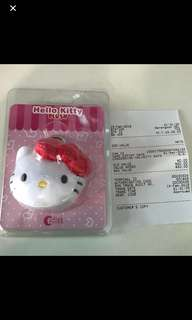 Hello Kitty Plush EZ Link Charm (Red) with 20 TOP up value