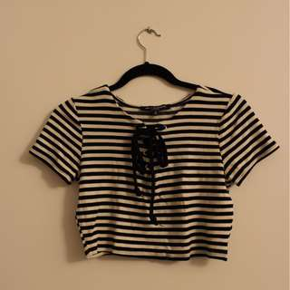 One Clothing LA Horizontal Crop Top