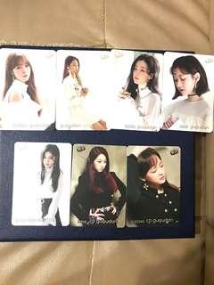 Gu9udan Yes Card(7pieces)