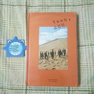 SEVENTEEN TEEN AGE ORANGE VER ALBUM