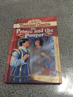 The Prince and the Pauper by Mark Twain HARDBOUND