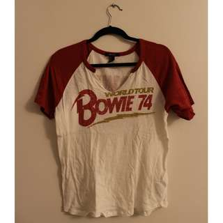 Forever21 Bowie Graphic Tee