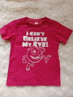 Preloved baju anak merk uniqlo size 110 3th