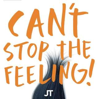 Justin Timberlake - Can't Stop the Feeling! [Orange Vinyl Single]