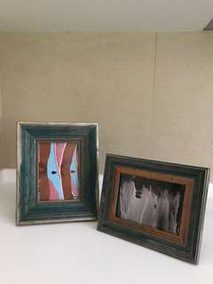 Wooden Painted Photoframes