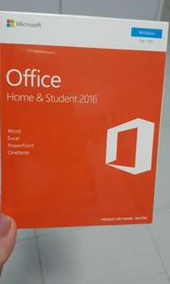Microsoft Office 2016 - home & student 2016