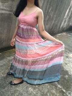 Beautiful pink summer dress