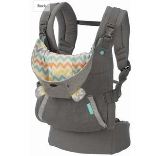 Infantino Cuddle Up Ergonomic baby carrier (good as new)