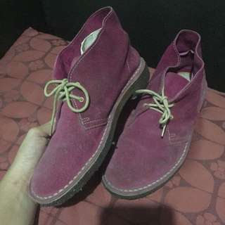 Oxford Shoes Pink