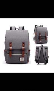 TR3 Tas Ransel Backpack Kanvas Canvas Outdoor Laptop Hiking Punggung Travel bag School