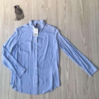 H&M 👔 stripe shirt