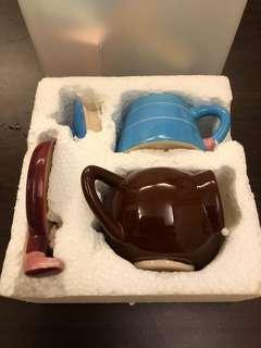 🚚 猴子造型茶壺加杯