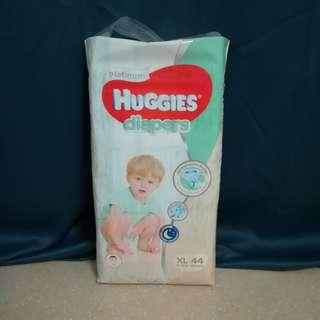 New Huggies Platinum Diaper XL