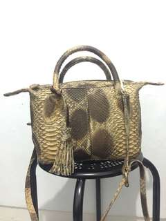 Python leader bag