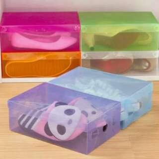 BOX SEPATU PLASTIK