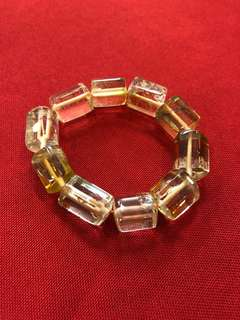 Premium Natural Unheated Citrine Bracelet
