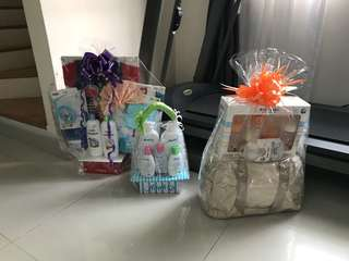 3 baby hampers