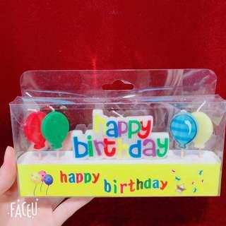 happy birthday 蠟燭 生日蠟燭