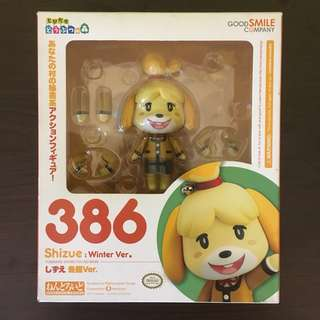 Nendoroid 386 Animal Crossing Isabelle/Shizue: Winter Ver.