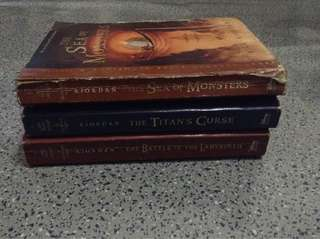 Percy Jackson and the Olympians (Books 2-4)