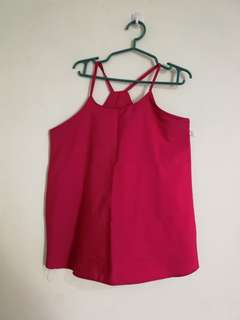 halter top blue and pink