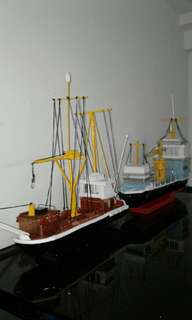Handmade ship