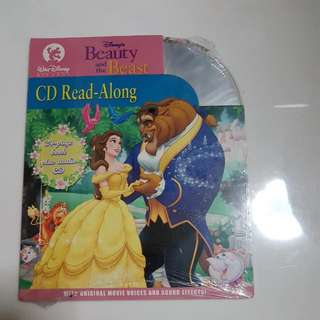 Beauty And The Beast CD Read-along 24 Page Book And Audio CD