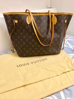 LV monogram tote bag