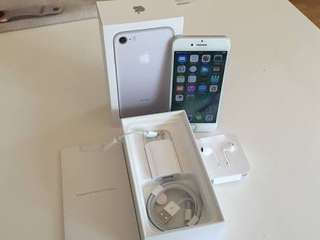 Kredit Apple iPhone 7 256GB Silver Garansi Internasional